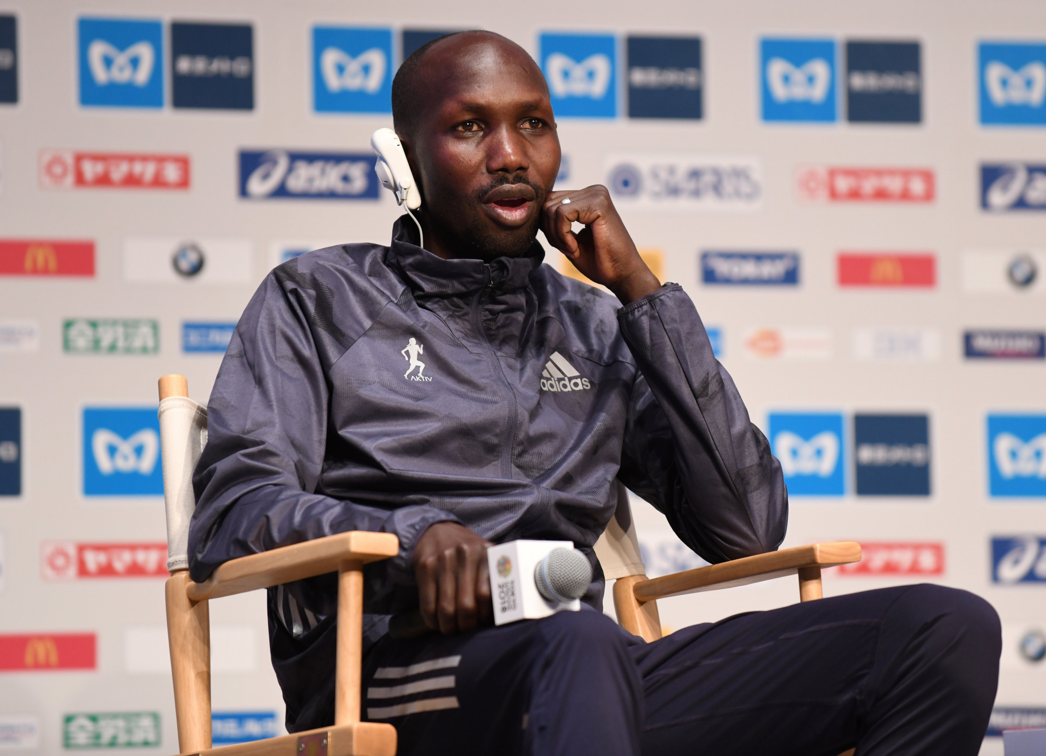 Wilson Kipsang was among a group arrested in Iten yesterday ©Getty Images