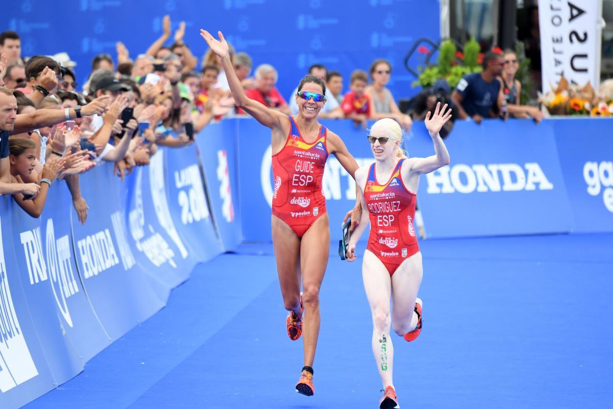 Para triathlete Rodriguez expresses relief at Tokyo 2020 postponement