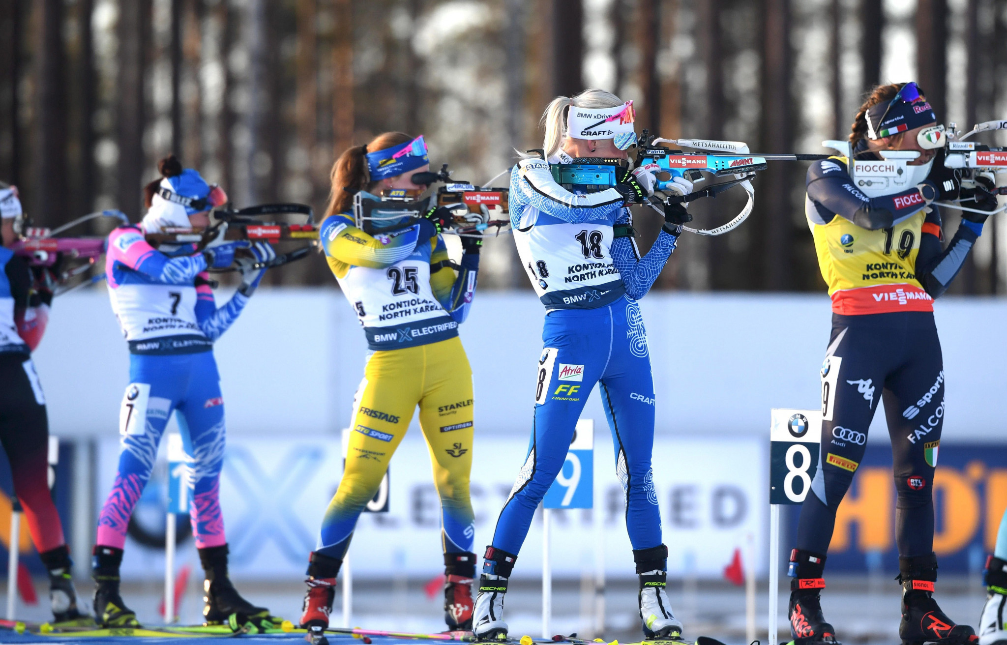 Fans completed a survey on spectator experience in biathlon ©Getty Images