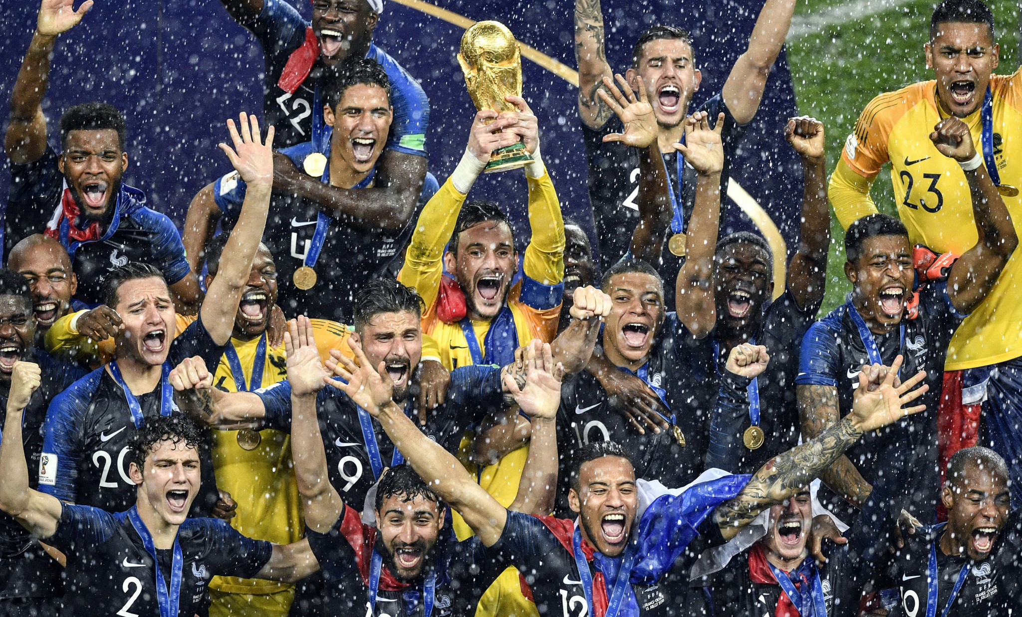 France won the 2018 FIFA World Cup in Russia ©Getty Images