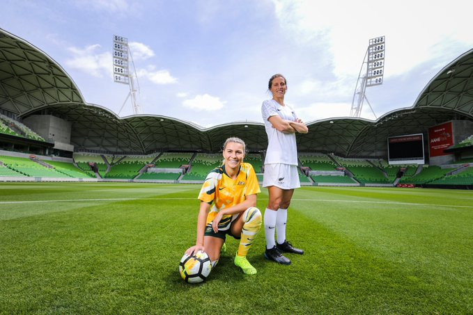 More details have been announced about Australia and New Zealand's joint bid for the 2023 FIFA Women's World Cup ©Twitter