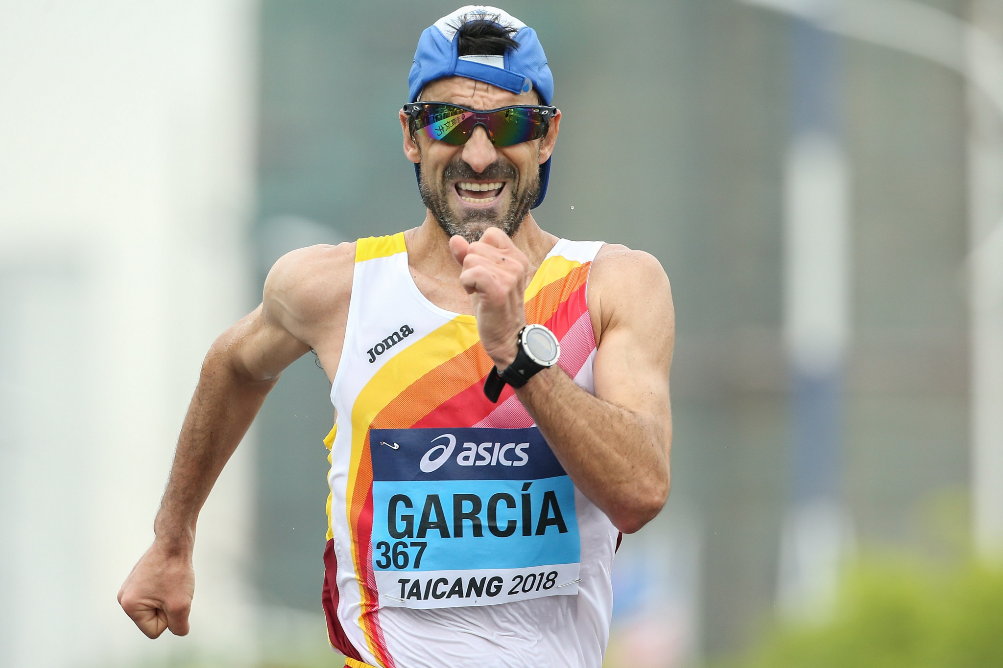 Jesús Ángel García has confirmed he will aim to compete at a record eighth Olympic Games ©Getty Images
