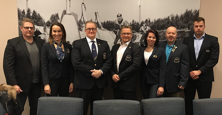 The Finnish Federation held their AGM over Skype ©IFBB