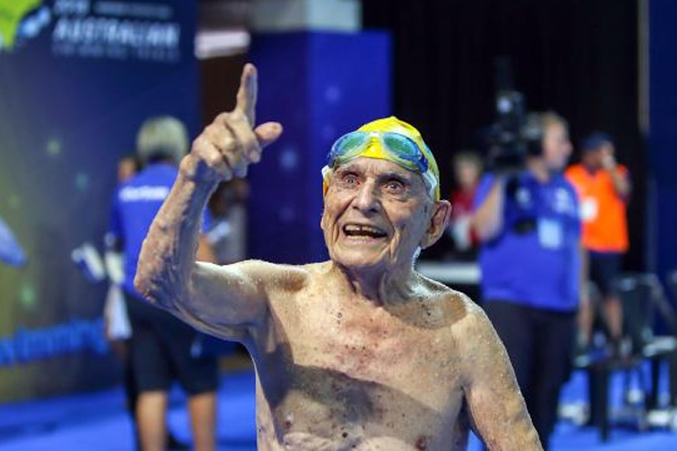 Honorary member of Australian team for Gold Coast 2018 dies aged 101