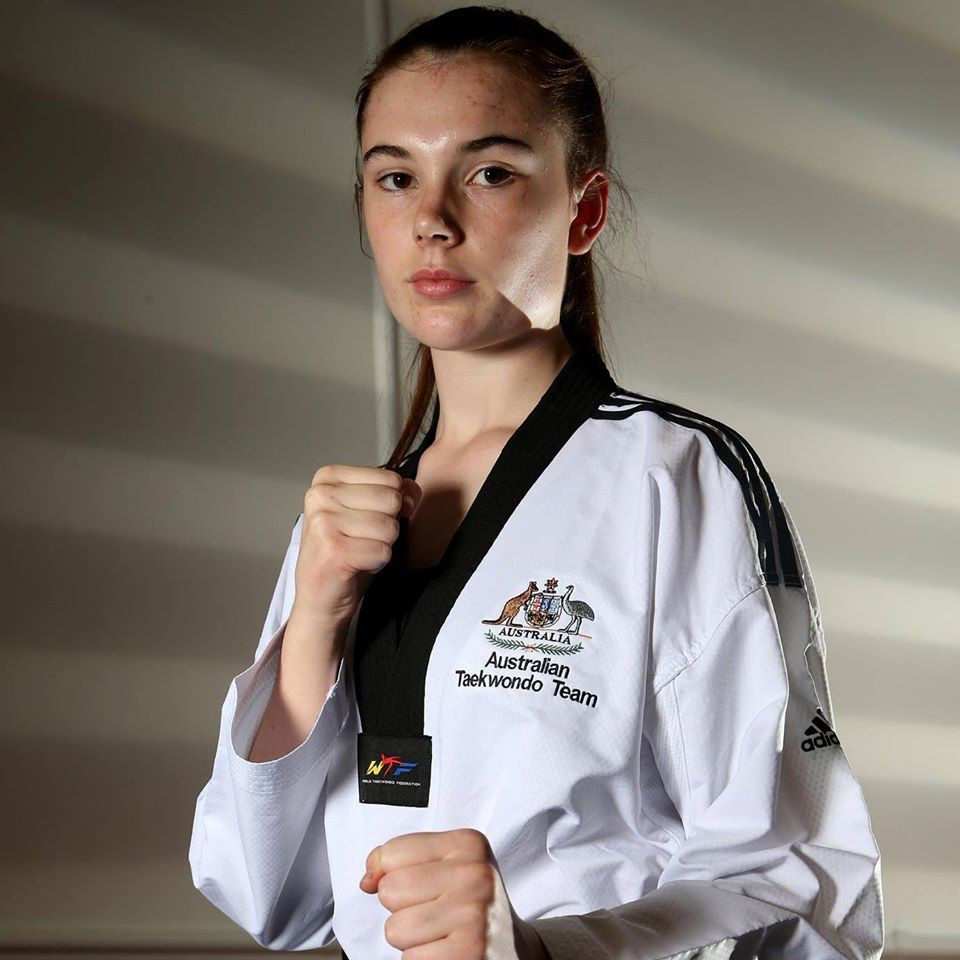 Reba Stewart was given Victorian School Sports' highest honour ©Facebook/Reba Stewart TKD