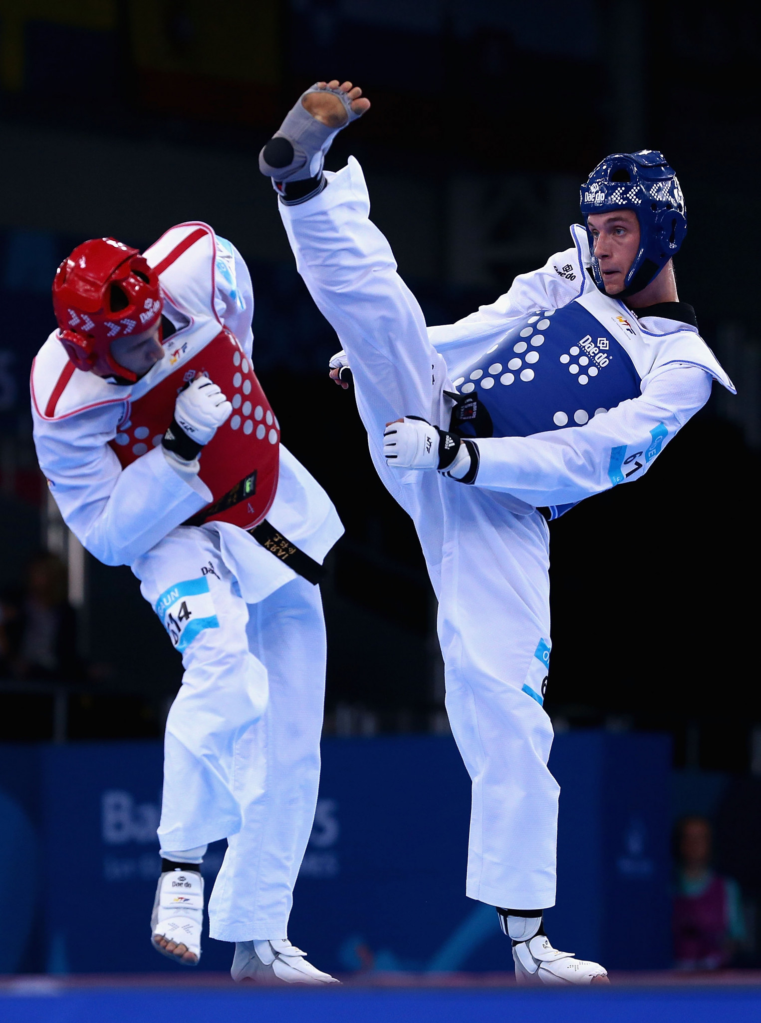 Richard Andre Ordemann, right, is a medal hope at Tokyo 2020 ©Getty Images