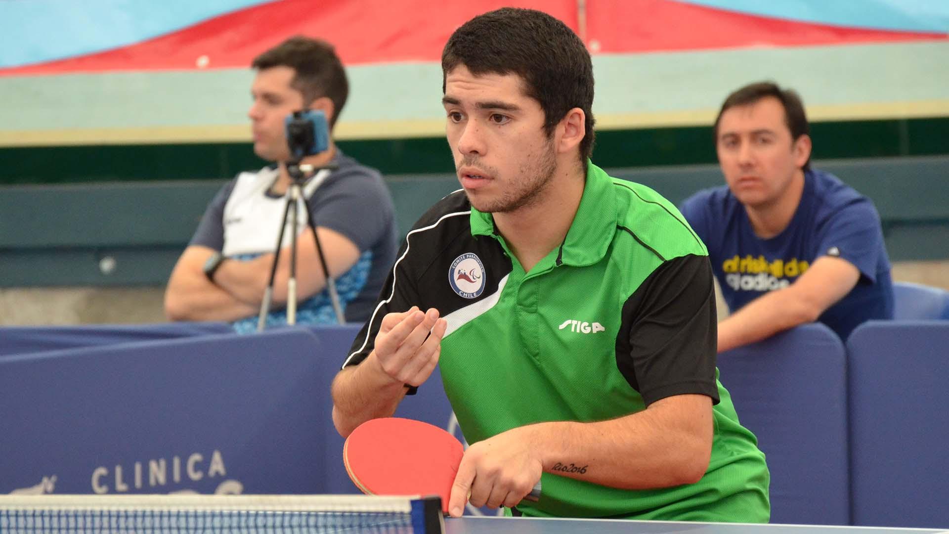 Matias Pino had won gold at the Lima 2019 Parapan American Games ©ITTF
