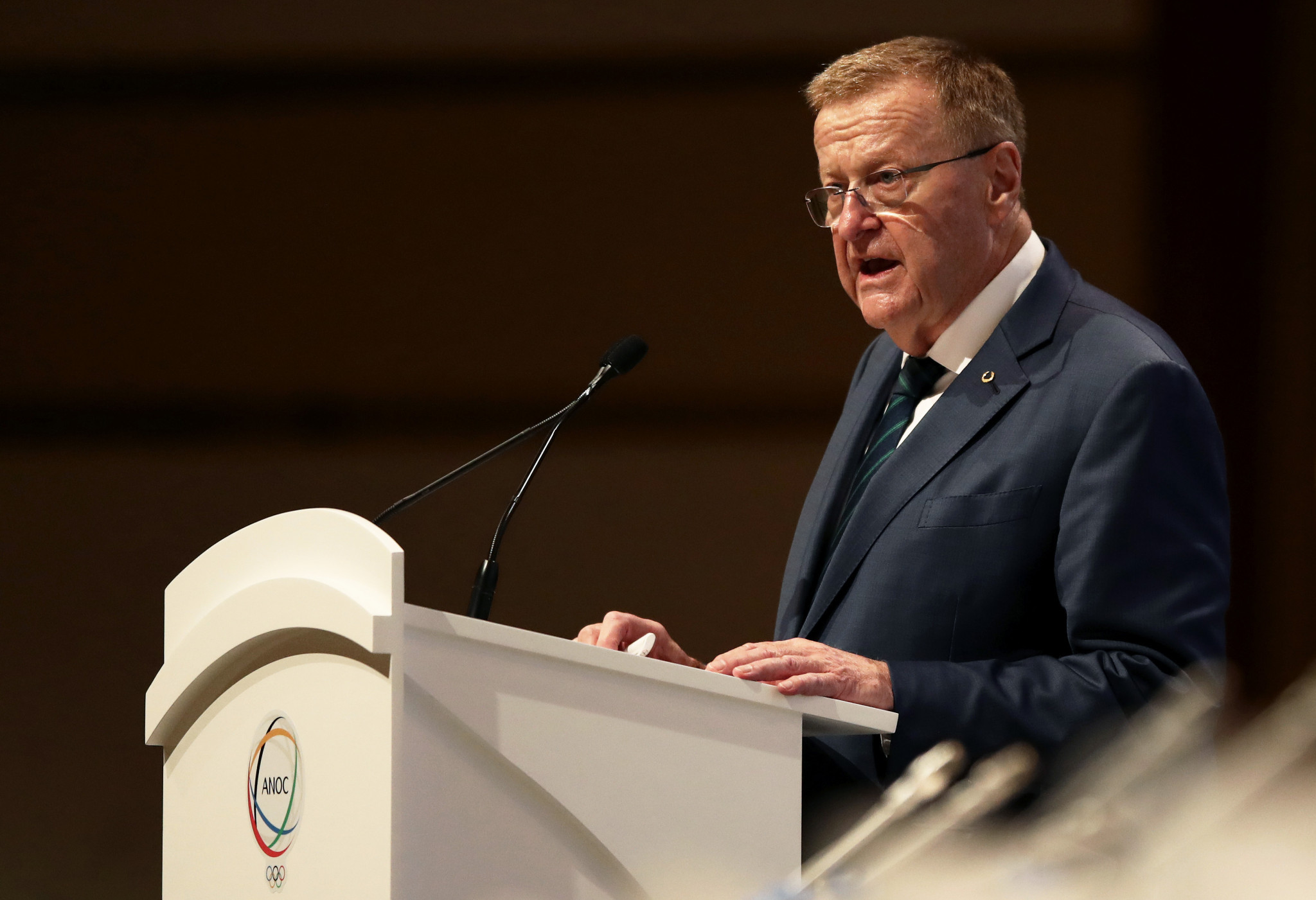 IOC Coordination Commission chair John Coates is set to host the joint steering committee alongside Tokyo 2020 President Yoshirō Mori ©Getty Images