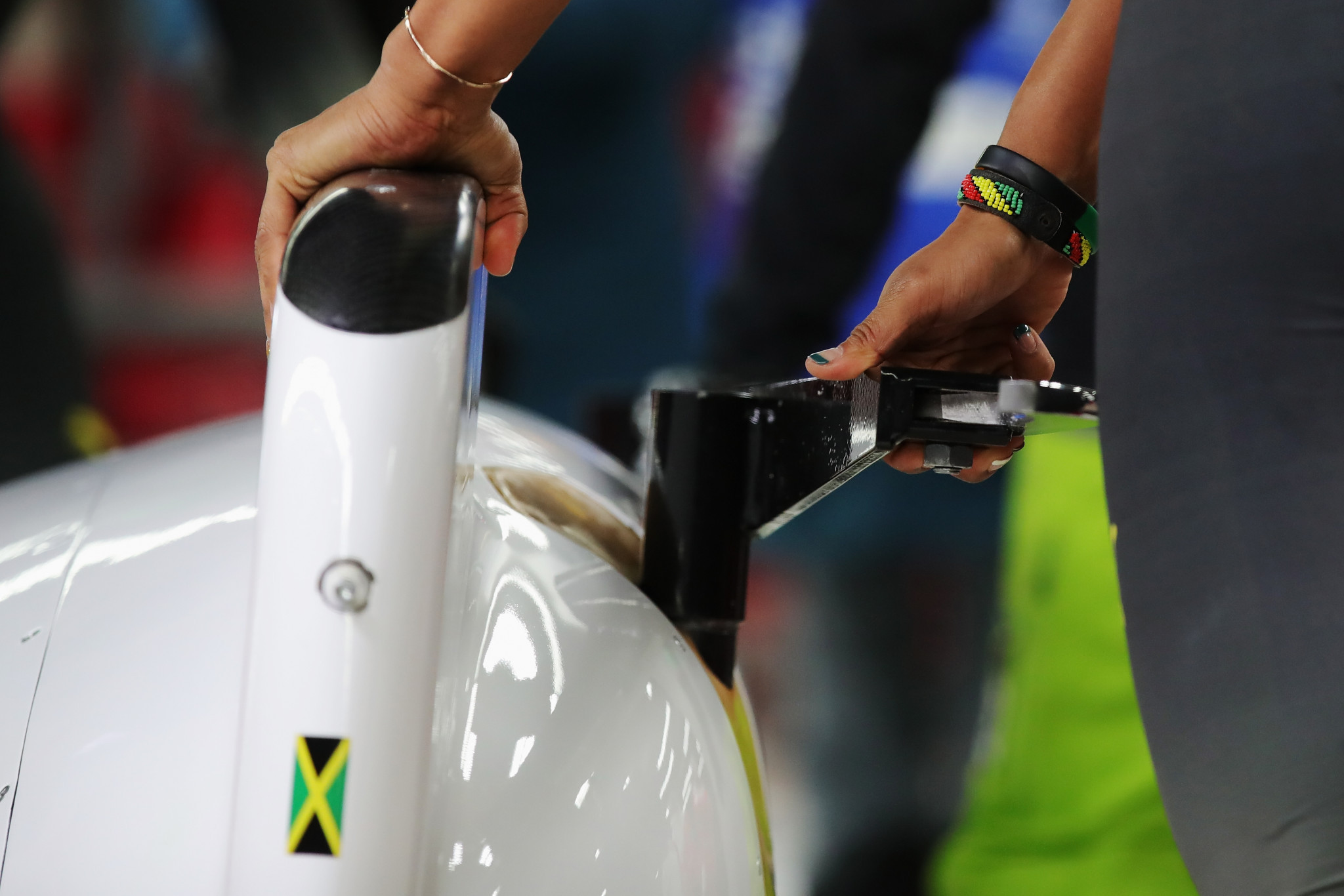 The Jamaica Bobsleigh and Skeleton Federation paid tribute to former athlete Sam Clayton Jr ©Getty Images