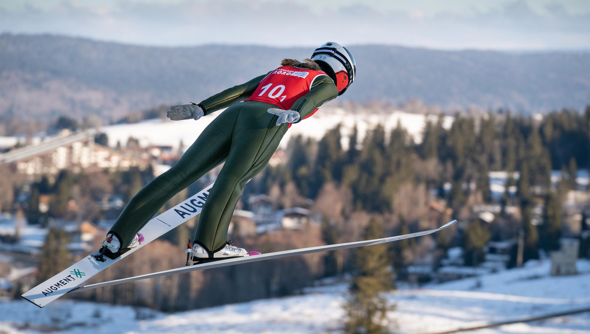 USA Nordic showing virtual contest for junior jumpers