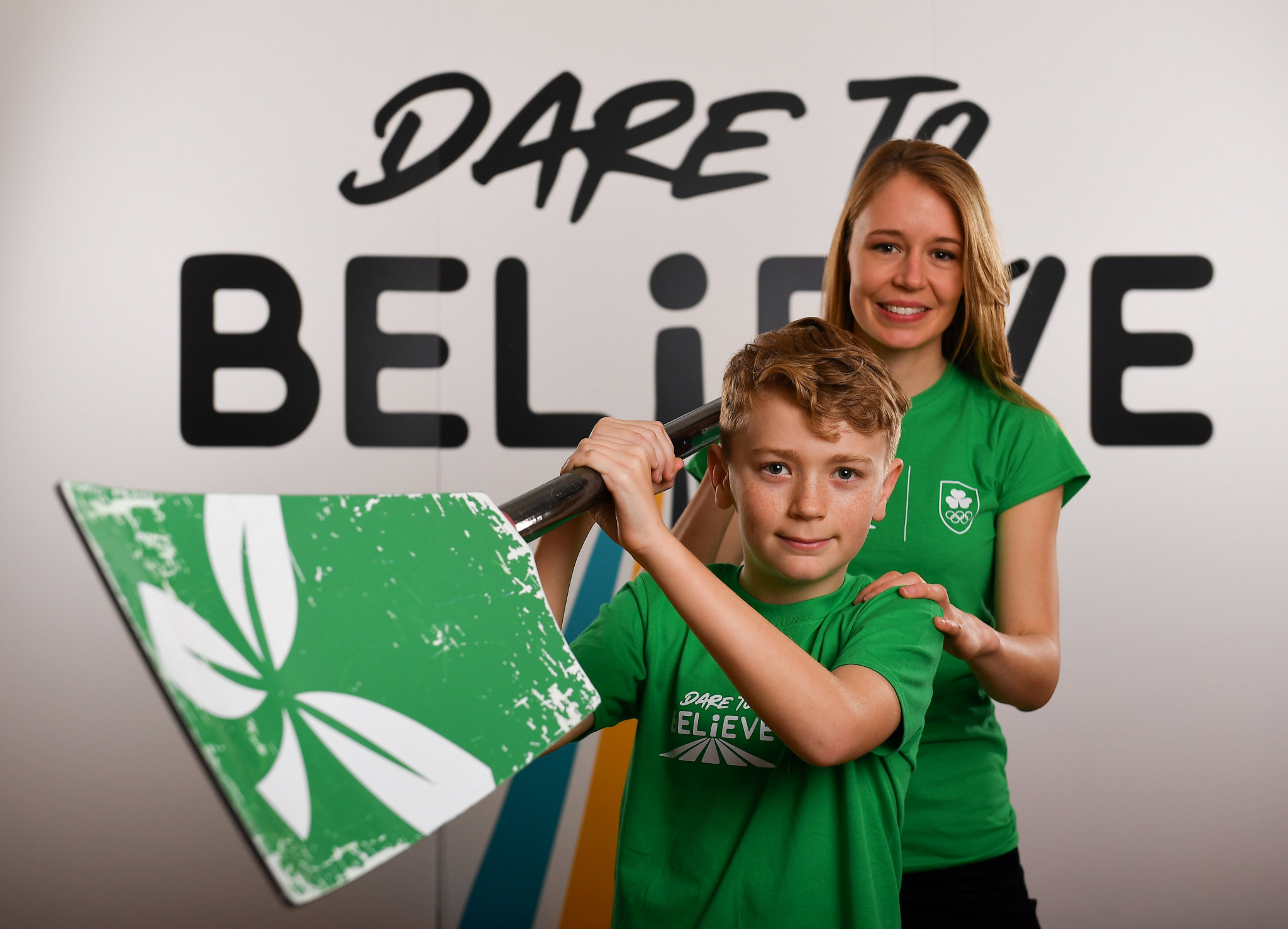 The Olympic Federation of Ireland launched a circuit challenge video as part of their Dare to Believe campaign ©Twitter