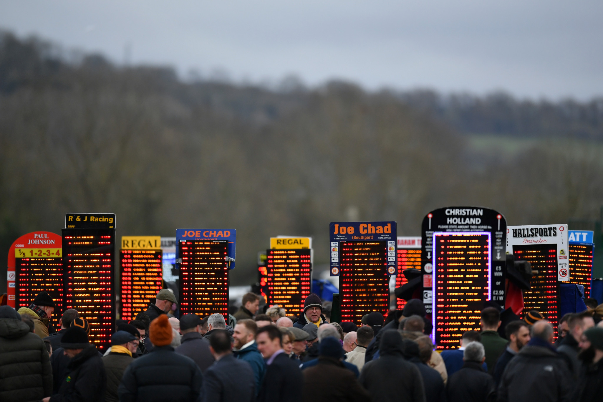 Bookmakers are suffering amid the pandemic, with the survey finding more than half of gamblers have stopped betting on sport ©Getty Images
