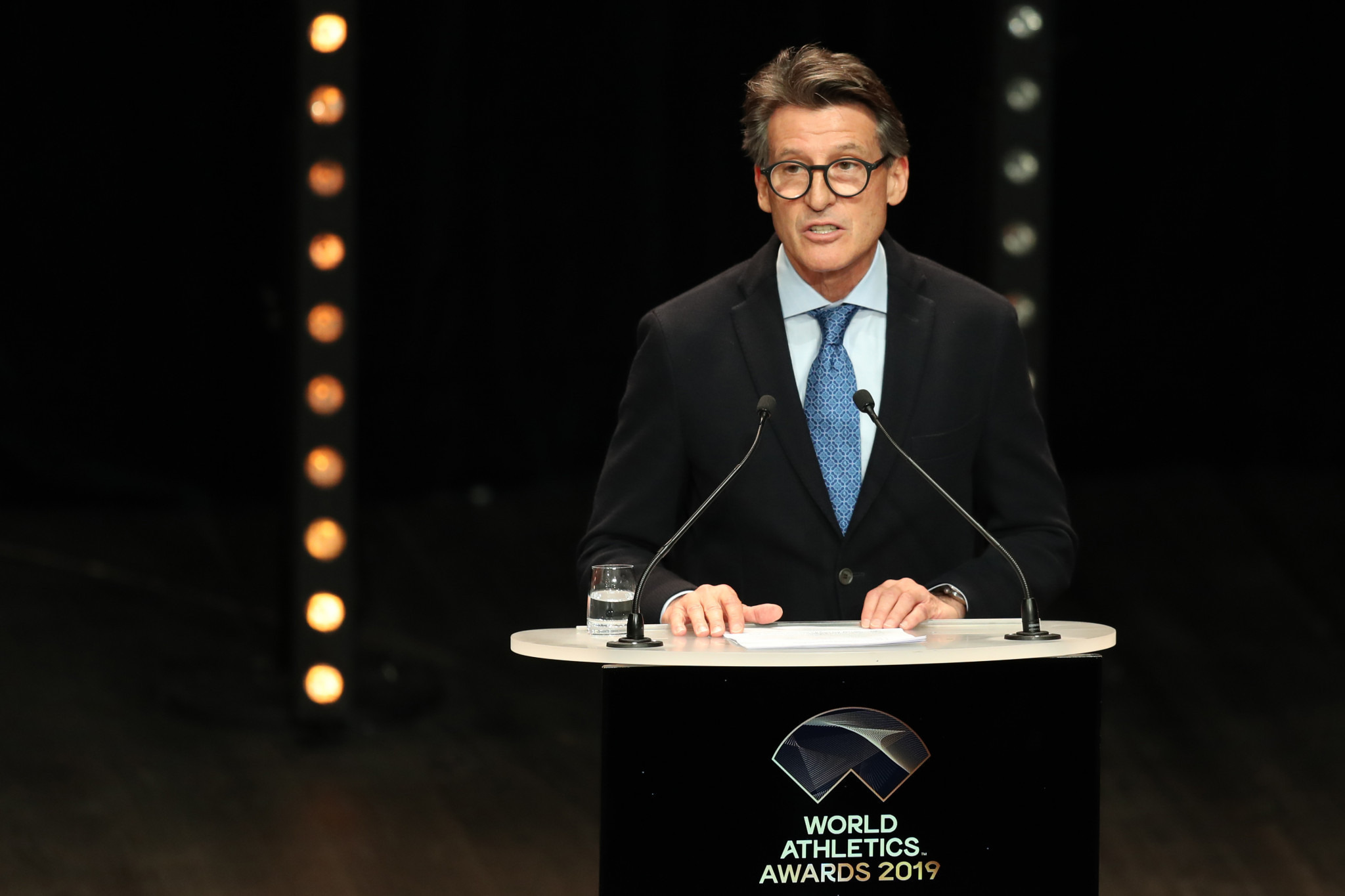 World Athletics President Sebastian Coe has been asked to allow Olympic qualification - frozen until December 1 - to take place at selected meetings if they are able to happen later this year ©Getty Images