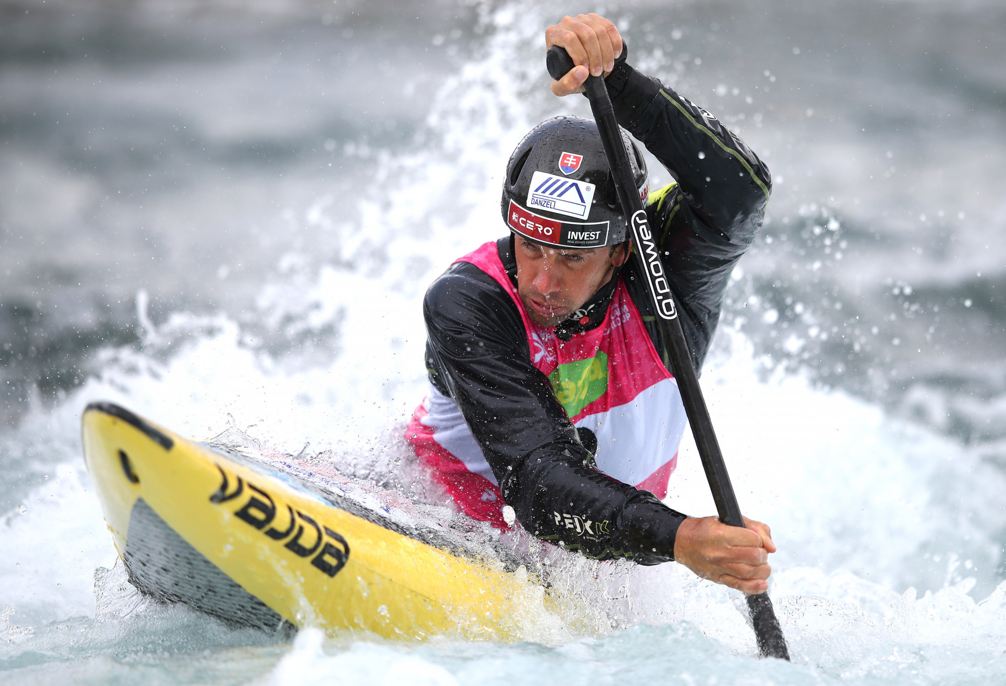 Ten-time world champion canoeist Alexander Slafkovský claimed the ability for athletes to train is essential for the Games to go ahead ©Getty Images