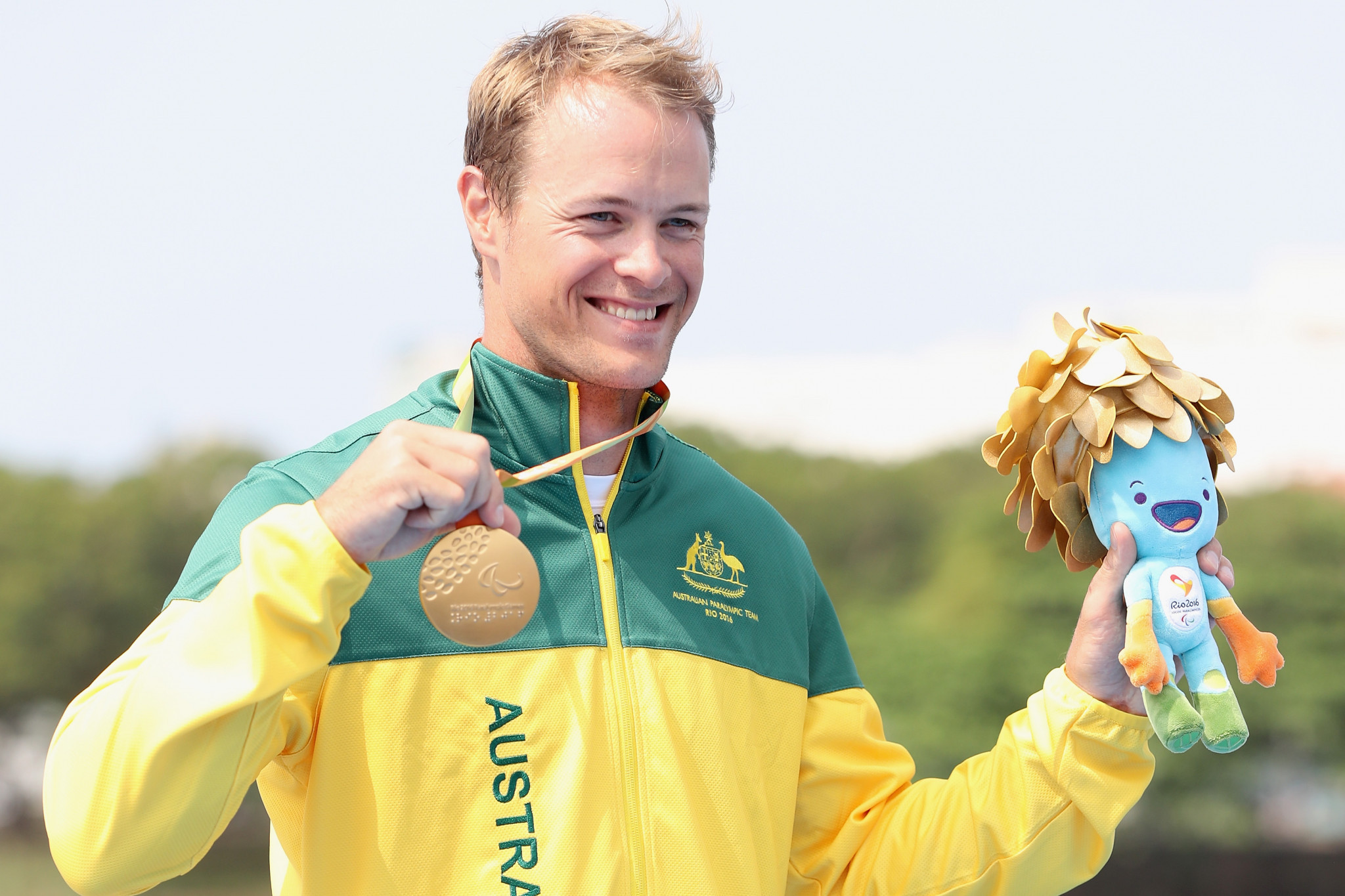 Rio 2016 Para-canoe champion Curtis McGrath claimed it would be a