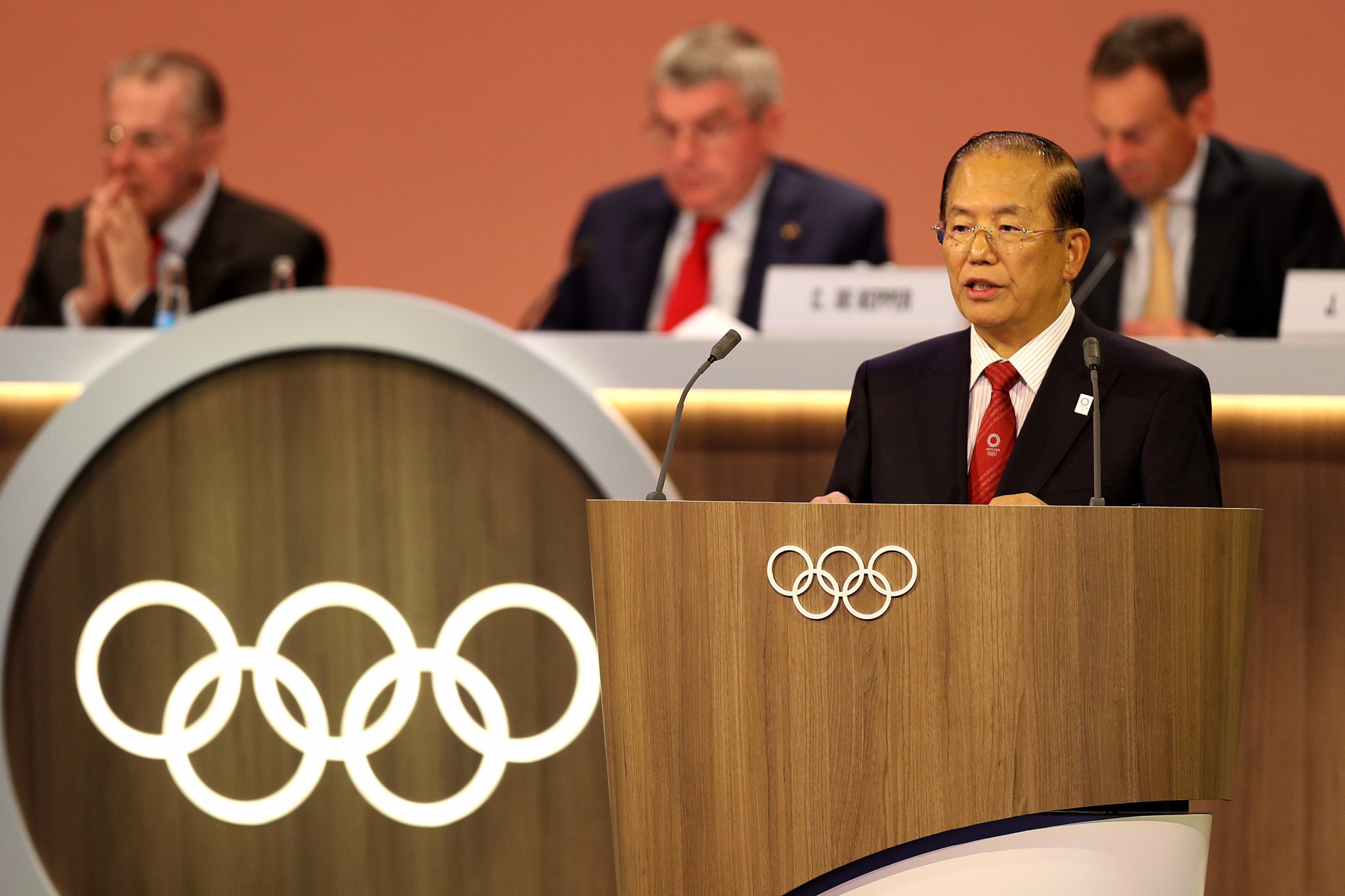 Tokyo 2020 chief executive Toshirō Mutō recently acknowledged the pandemic could impact the Games next year ©Getty Images