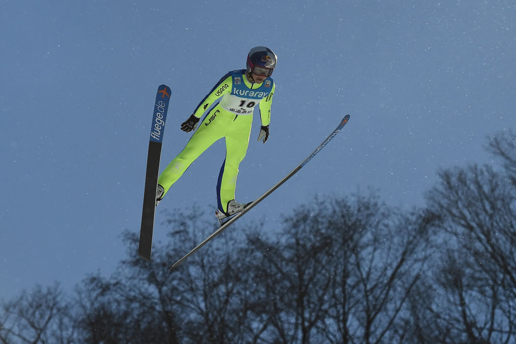 Sarah Hendrickson could return to the Ski Jumping World Cup circuit this year ©Getty Images