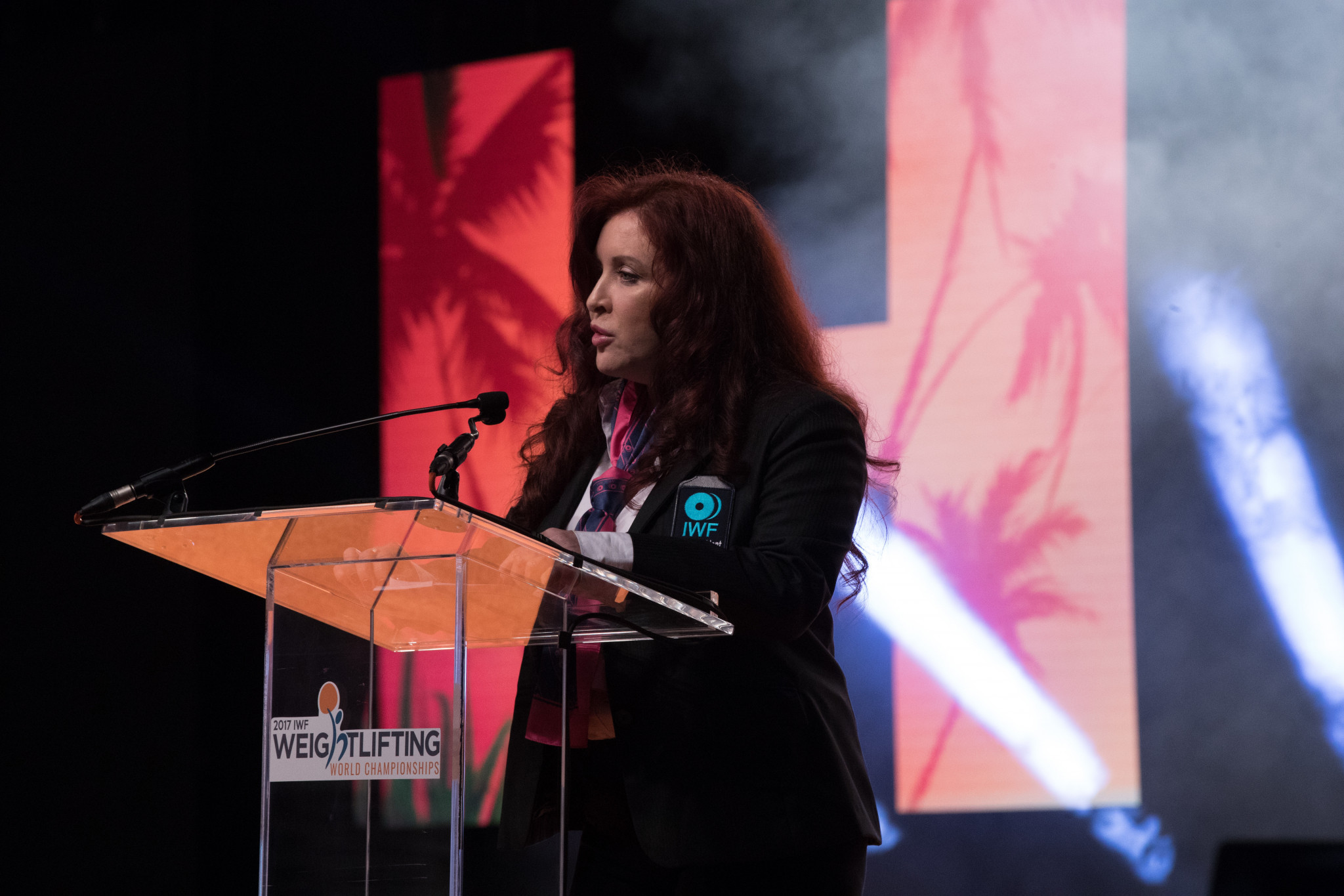 Ursula Papandrea has publicly declared her intention to regain the leadership of the International Weightlifting Federation ©IWF