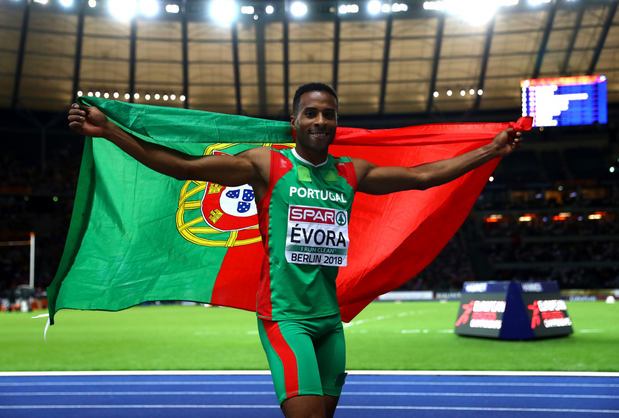 Nelson Évora has won two Universiade gold medals ©Getty Images