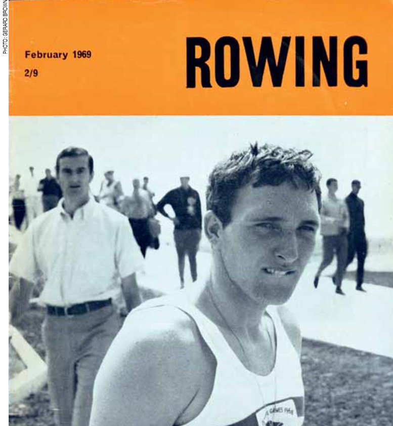 """""""I was a very angry young man"""" – Ken Dwan had to battle to become the first Docklander to be selected to row for Britain at an Olympic Games ©Gerard Brown, Rowing Magazine"""
