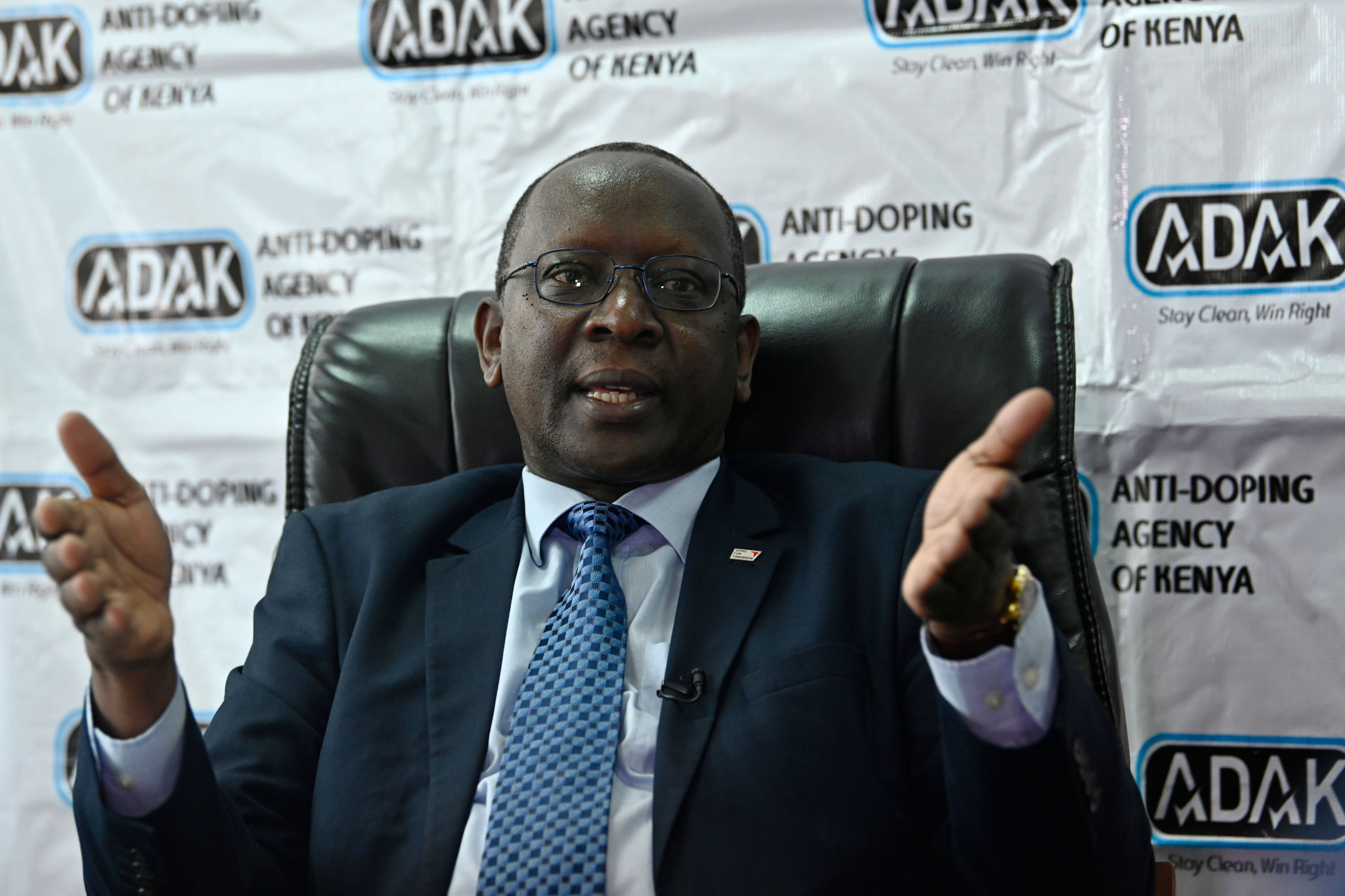 Anti-Doping Agency of Kenya chief executive Japhter Rugut has warned athlete they still face testing despite the pandemic ©Getty Images