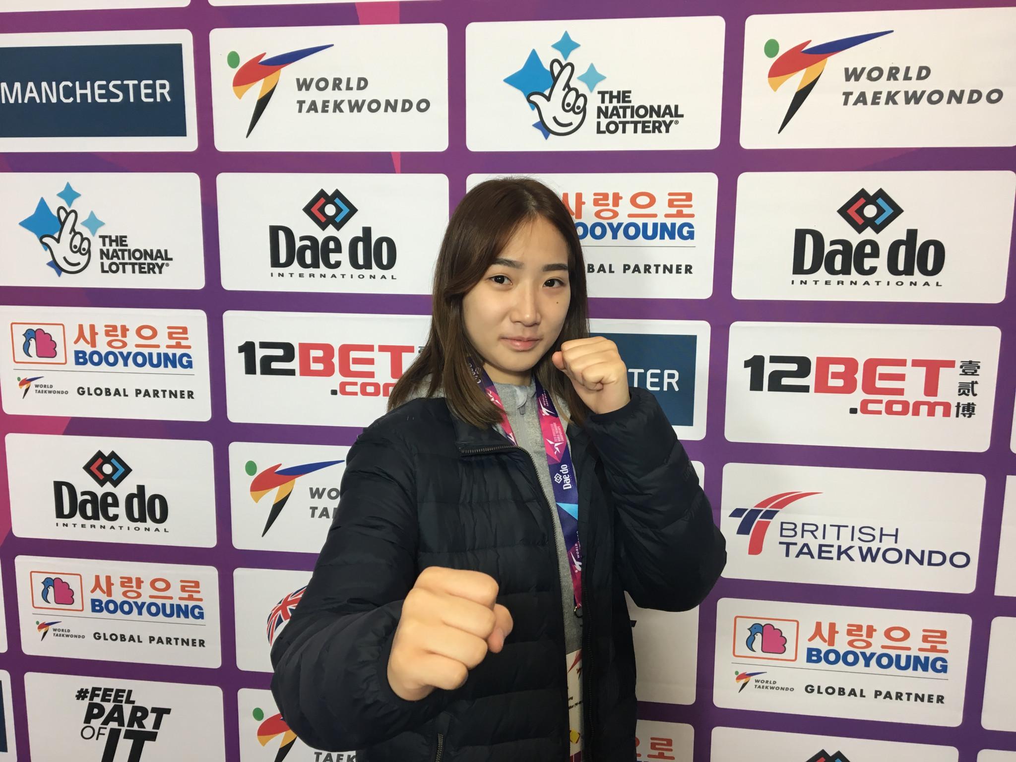 Sim Jae-Young is a double world champion ©World Taekwondo