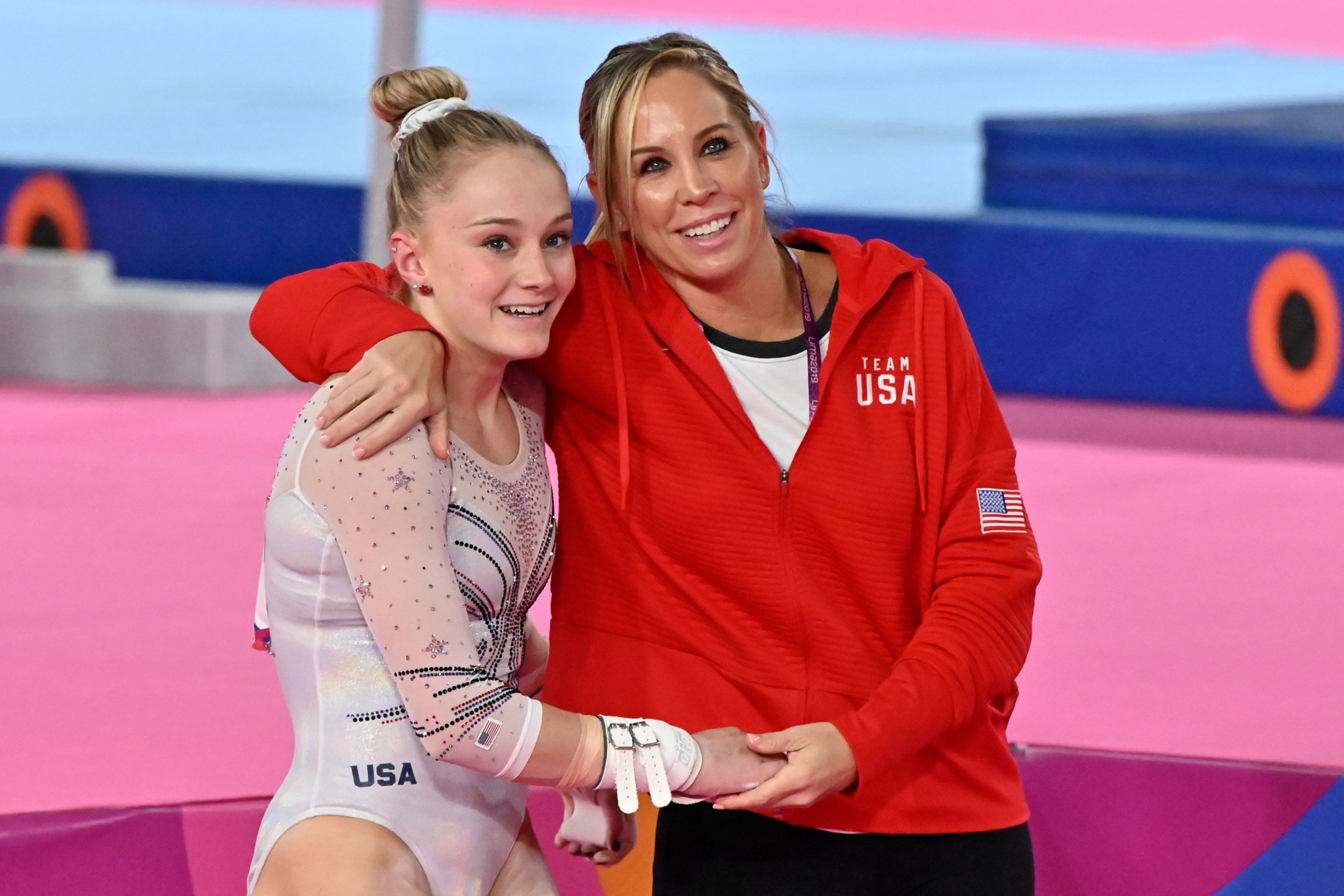 Maggie Haney most recently coached Riley McCusker ©Getty Images
