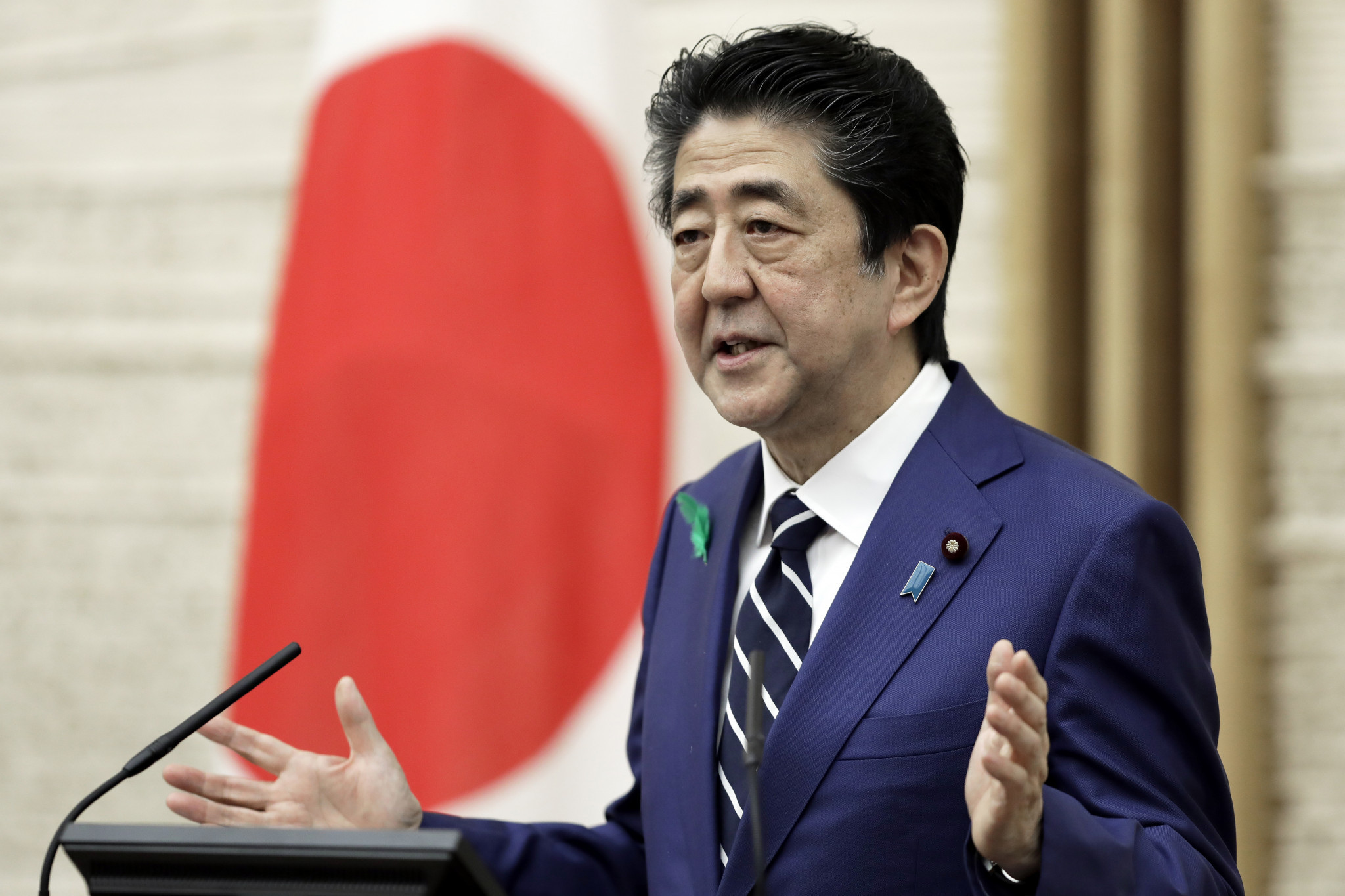 Japanese Prime Minister Abe considering extension of state of emergency