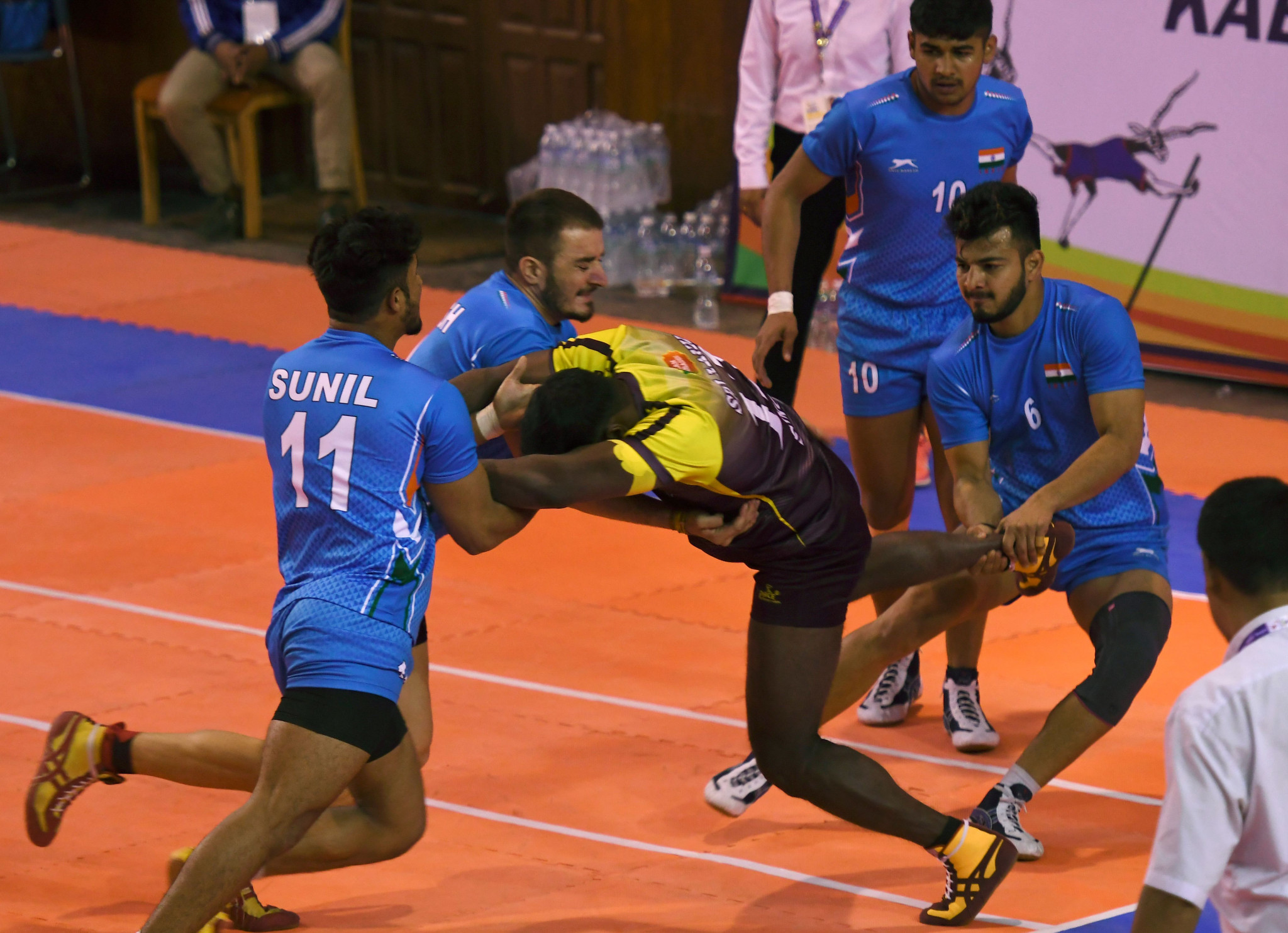 Kabbadi has featured on the Asian Games programme since 1990 ©Getty Images