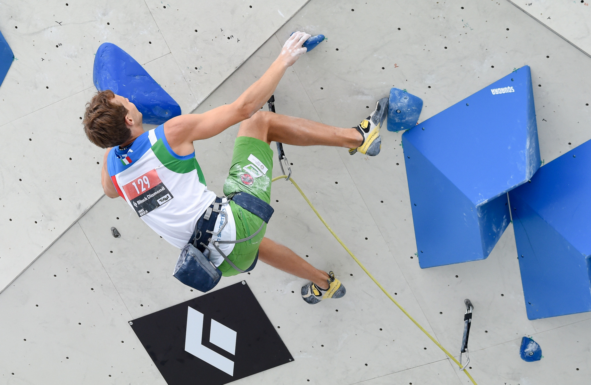 Michael Piccolruaz of Italy became the third Italian climber to qualify for Tokyo 2020 ©Getty Images