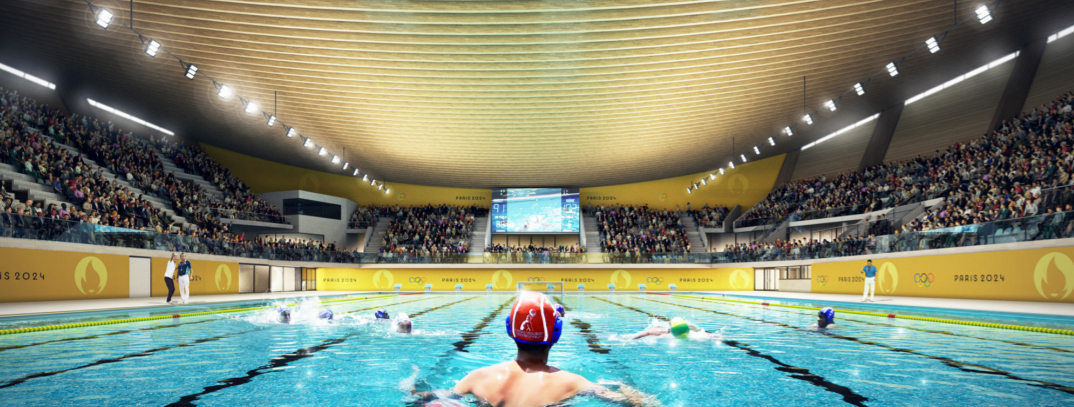 Artistic swimming, diving and water polo competitions will be held at the venue ©Architects: VenhoevenCS + Ateliers 2/3/4 / Image: Proloog