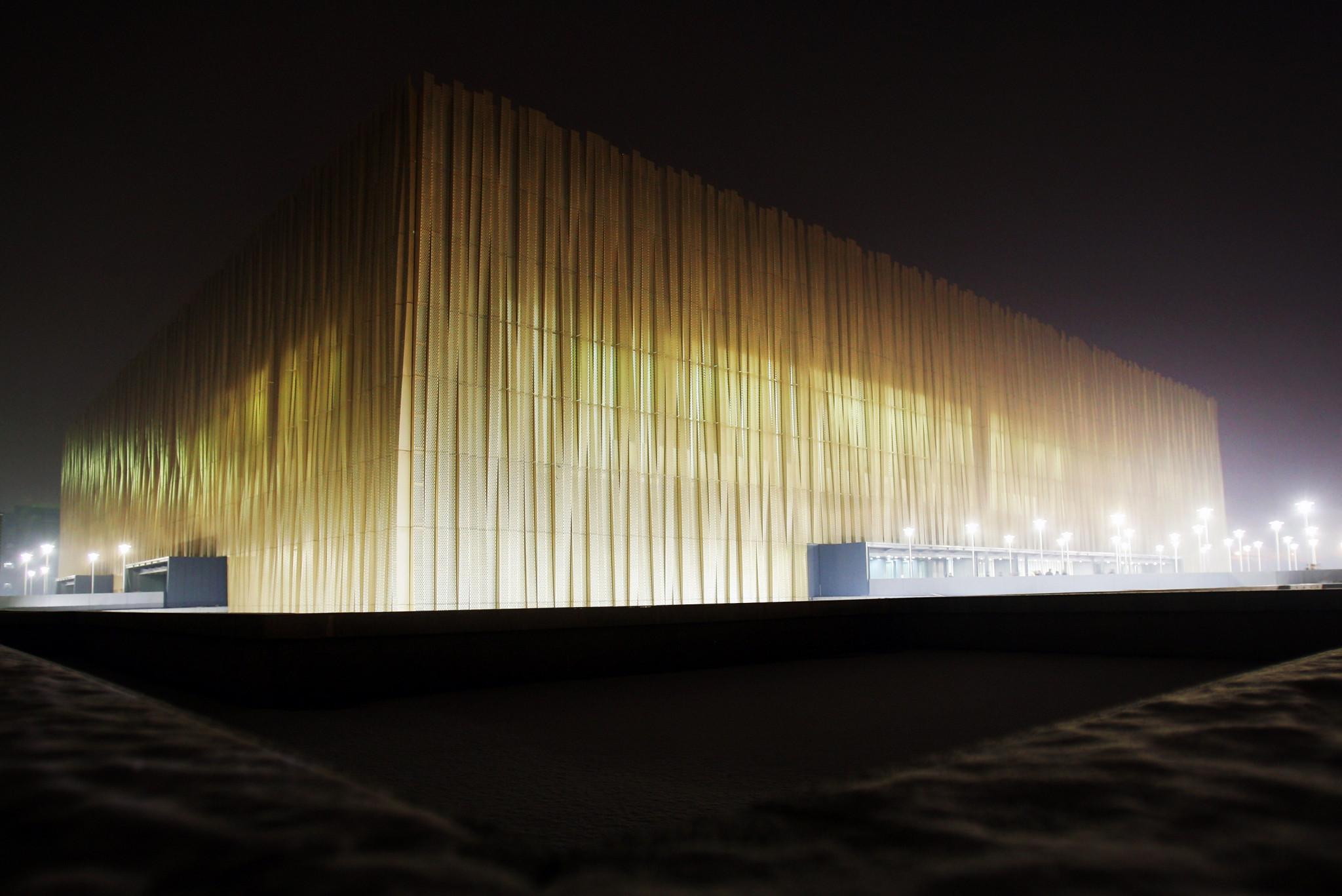 Work begins upgrading Beijing 2022 ice hockey venue