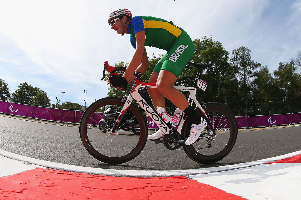 The Brazilian Para cyclist is facing a ban from the sport ©Getty Images