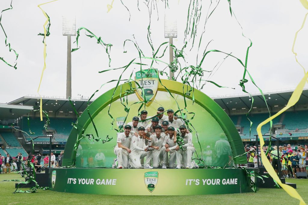 Australia top of ICC Test rankings for first time in four years