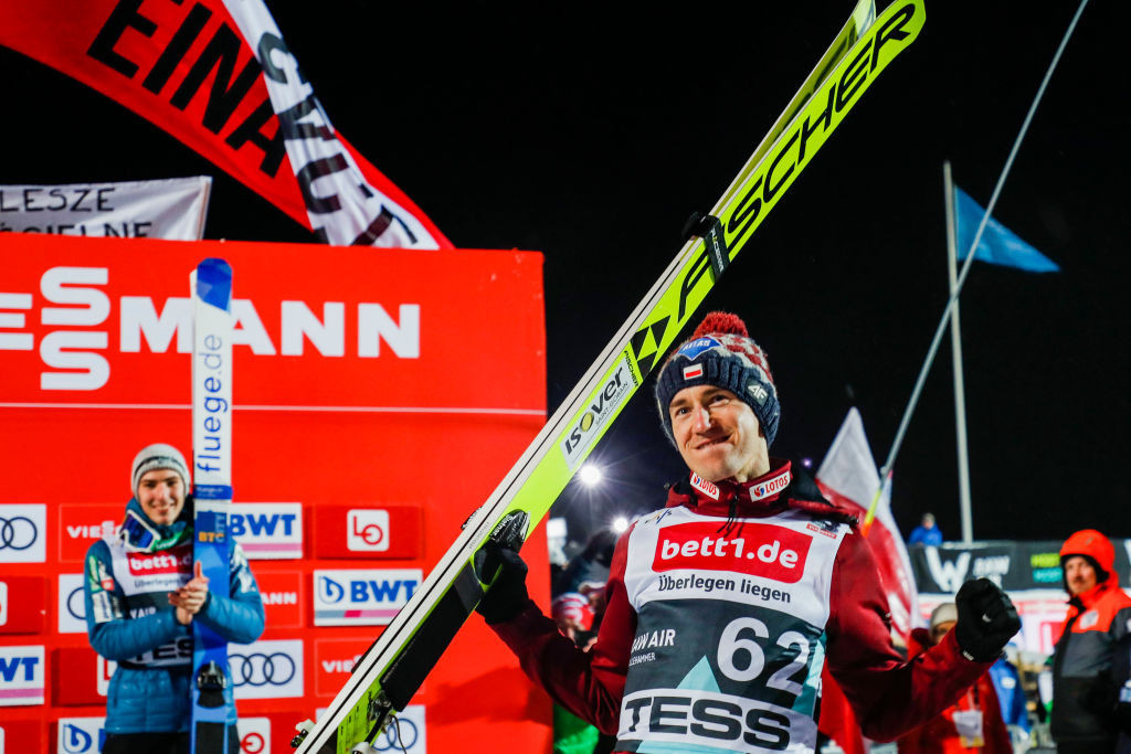 Kamil Stoch is on the 12-strong Polish ski jumping team for 2020-2021 ©Getty Images
