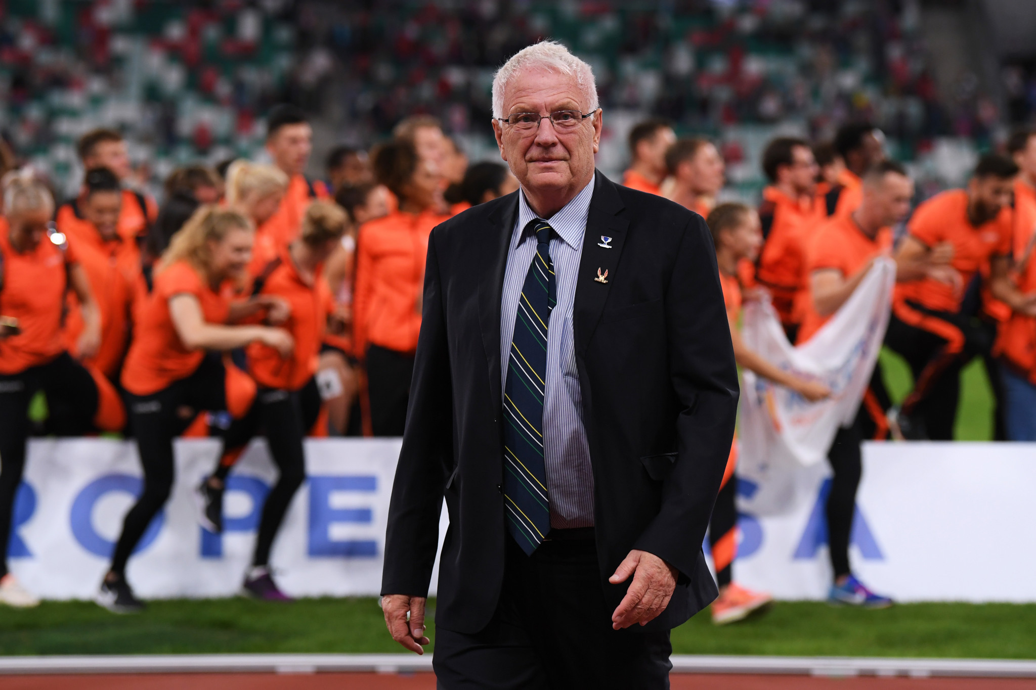 European Athletics President Svein Arne Hansen is said to be in a stable condition ©Getty Images
