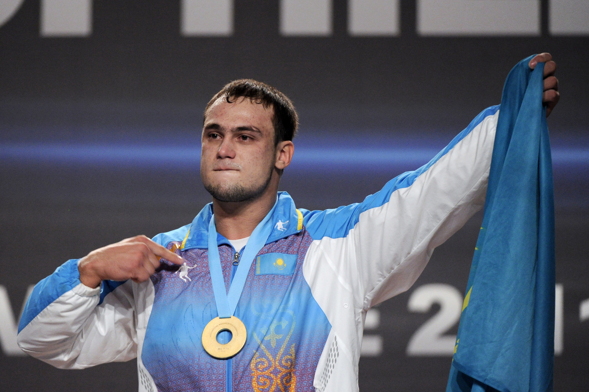Nijat Rahimov is currently Kazakhstan's leading male lifter in Olympic qualifying ©Getty Images