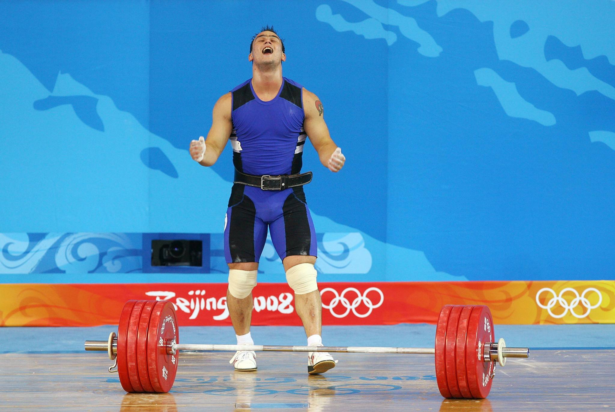Four times a world champion, Ilya Ilyin was stripped of two Olympic gold medals ©Getty Images