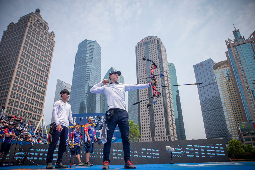 Compound team archery events have been added to Santiago 2023 ©Getty Images