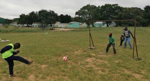 Blind football coaching clinics have been held across Zimbabwe ©IBSA