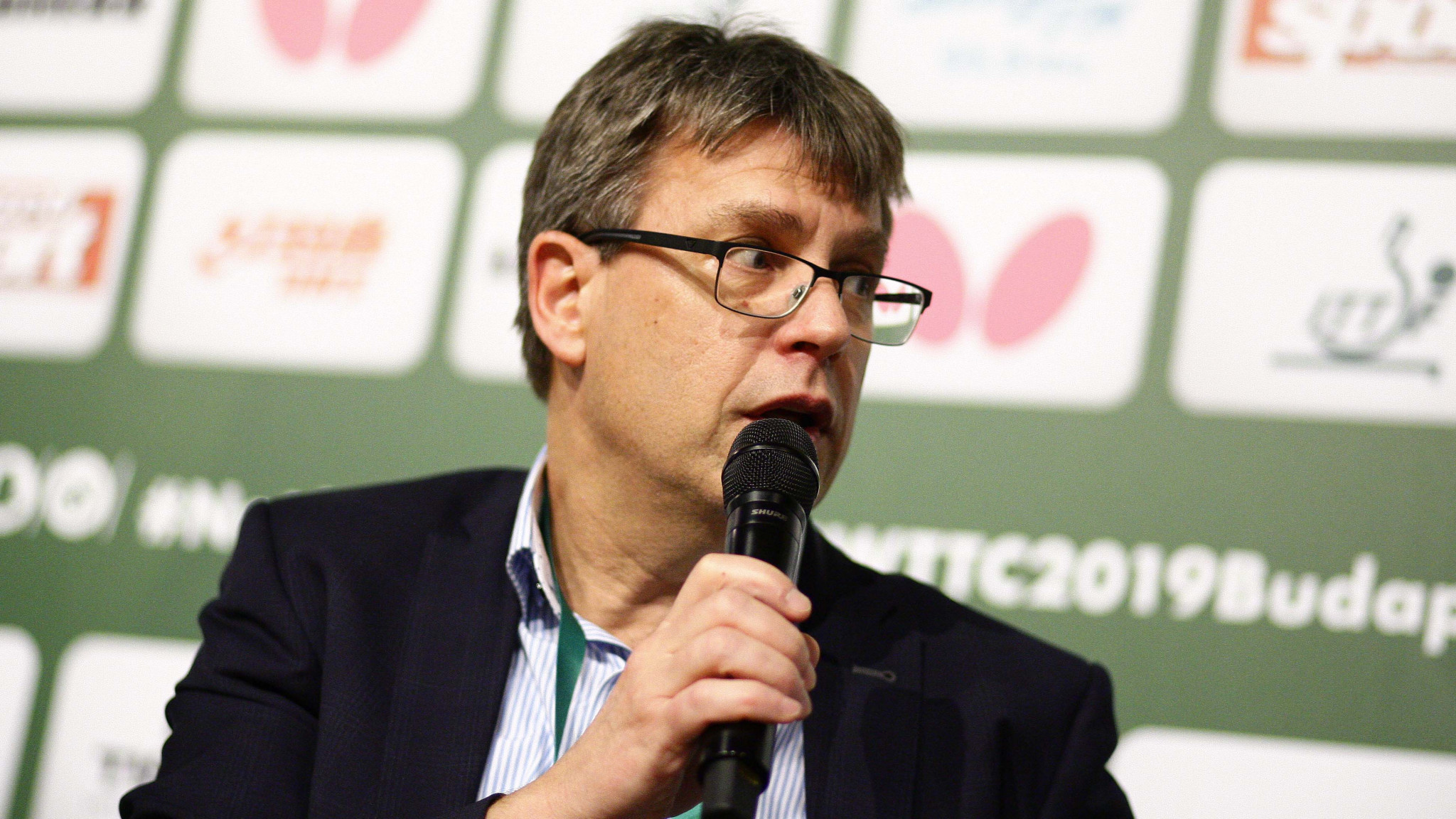 """Exclusive: ITTF President hits back at two senior officials for """"discrediting"""" allegations"""
