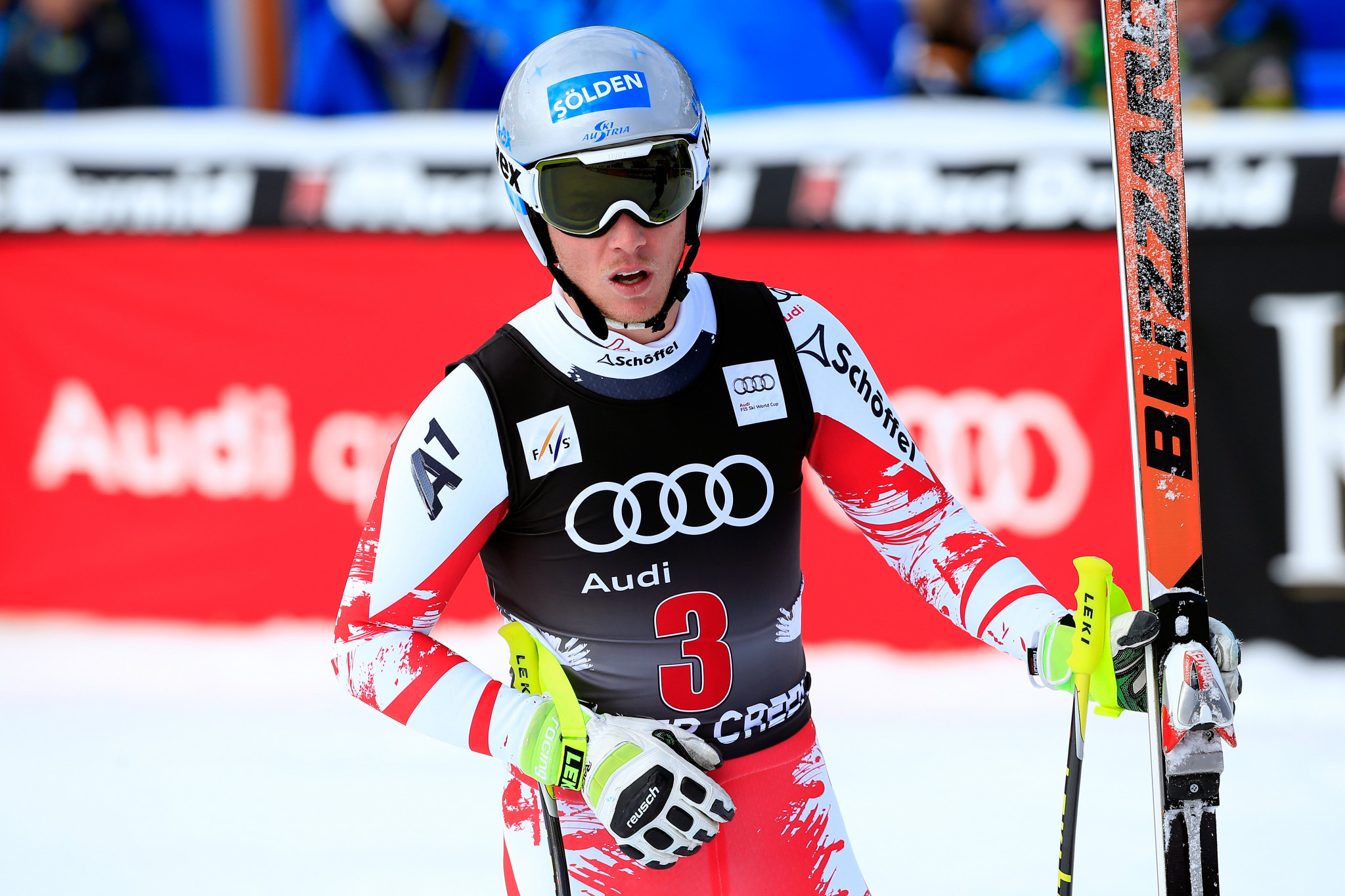 Florian Scheiber, who retired from skiing four years ago, is the new Austrian women's speed coach ©Getty Images