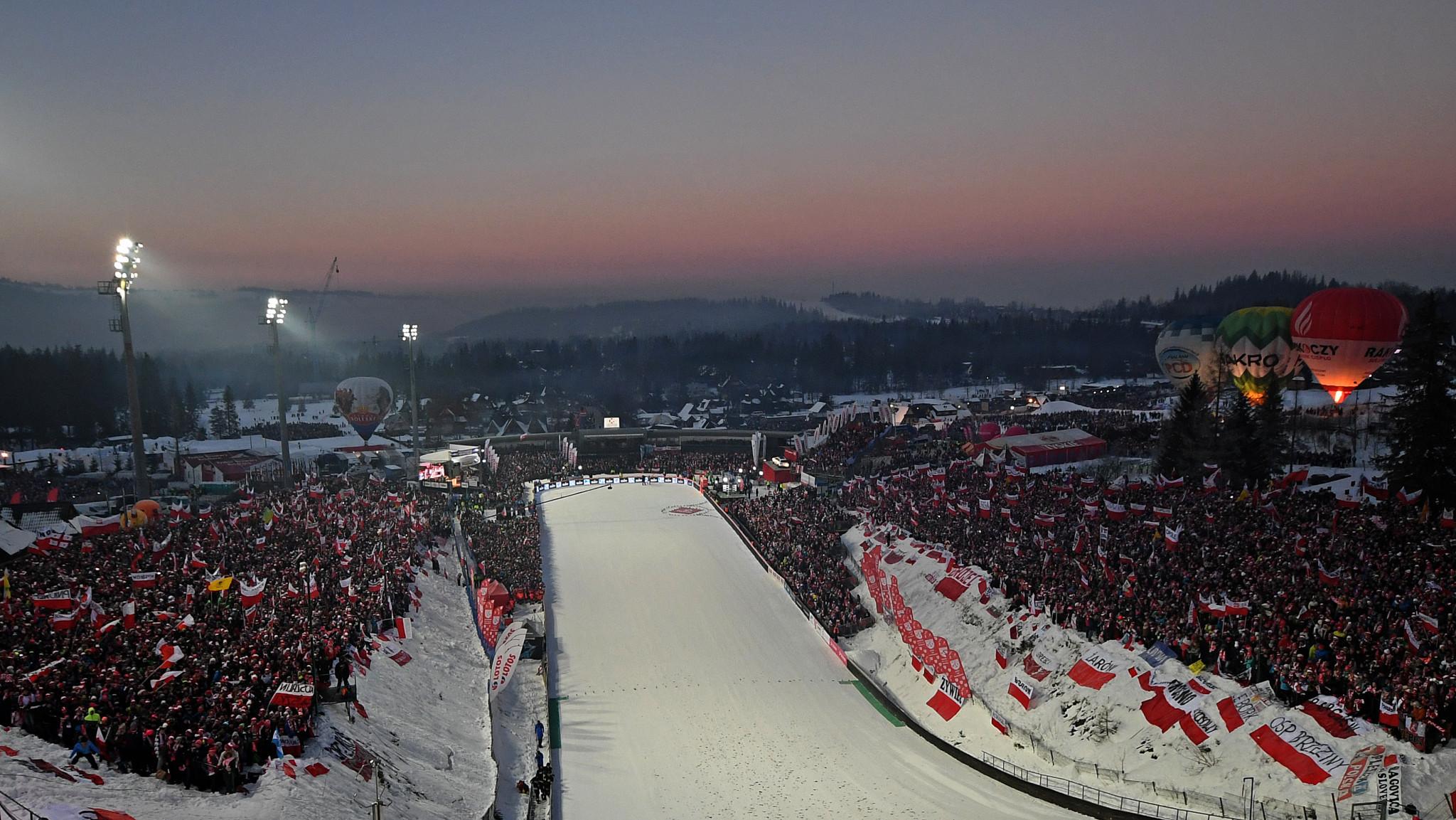 Zakopane will host the 2021 Nordic Junior World Ski Championships ©Getty Images