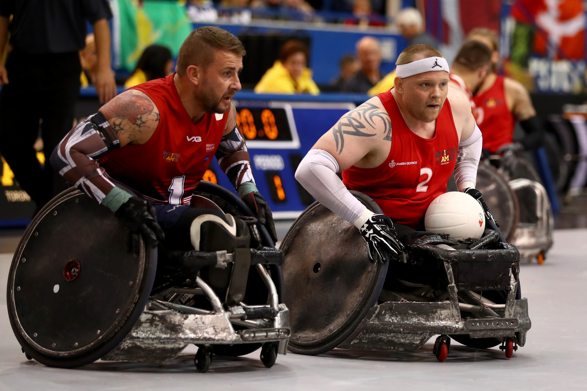 Denmark awarded 2022 Wheelchair Rugby World Championship