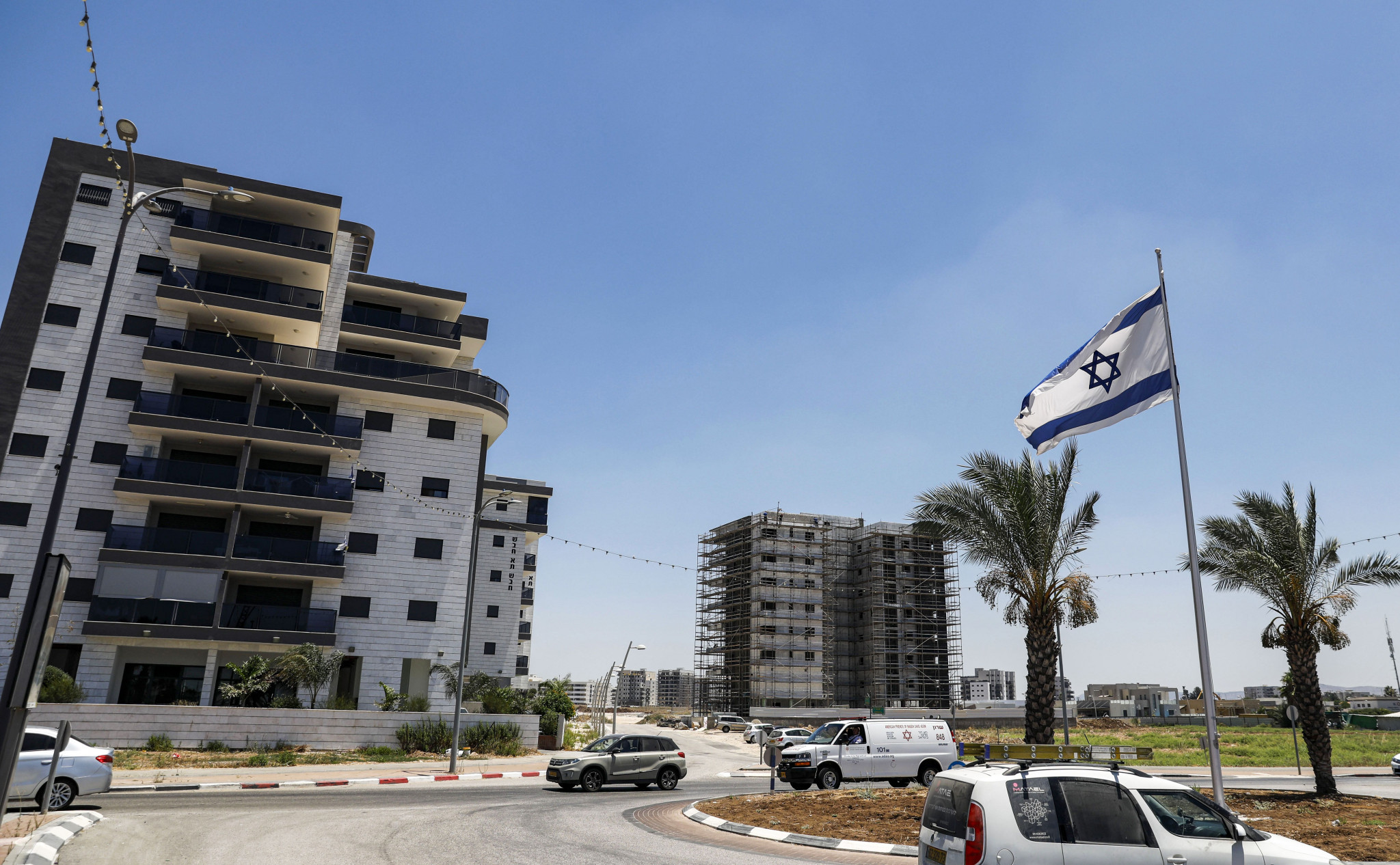 The Israeli town of Afula was due to host the event ©Getty Images