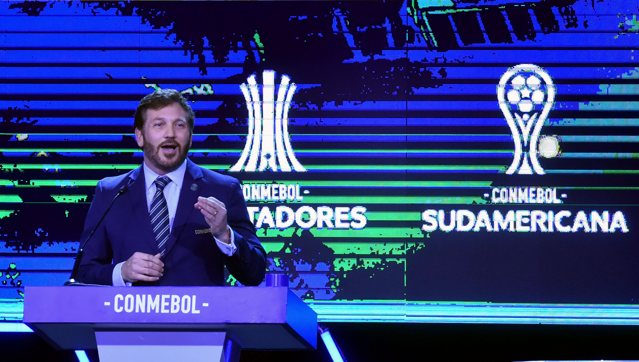 """CONMEBOL President """"surprised"""" by FIFA move to temporarily allow five substitutes"""