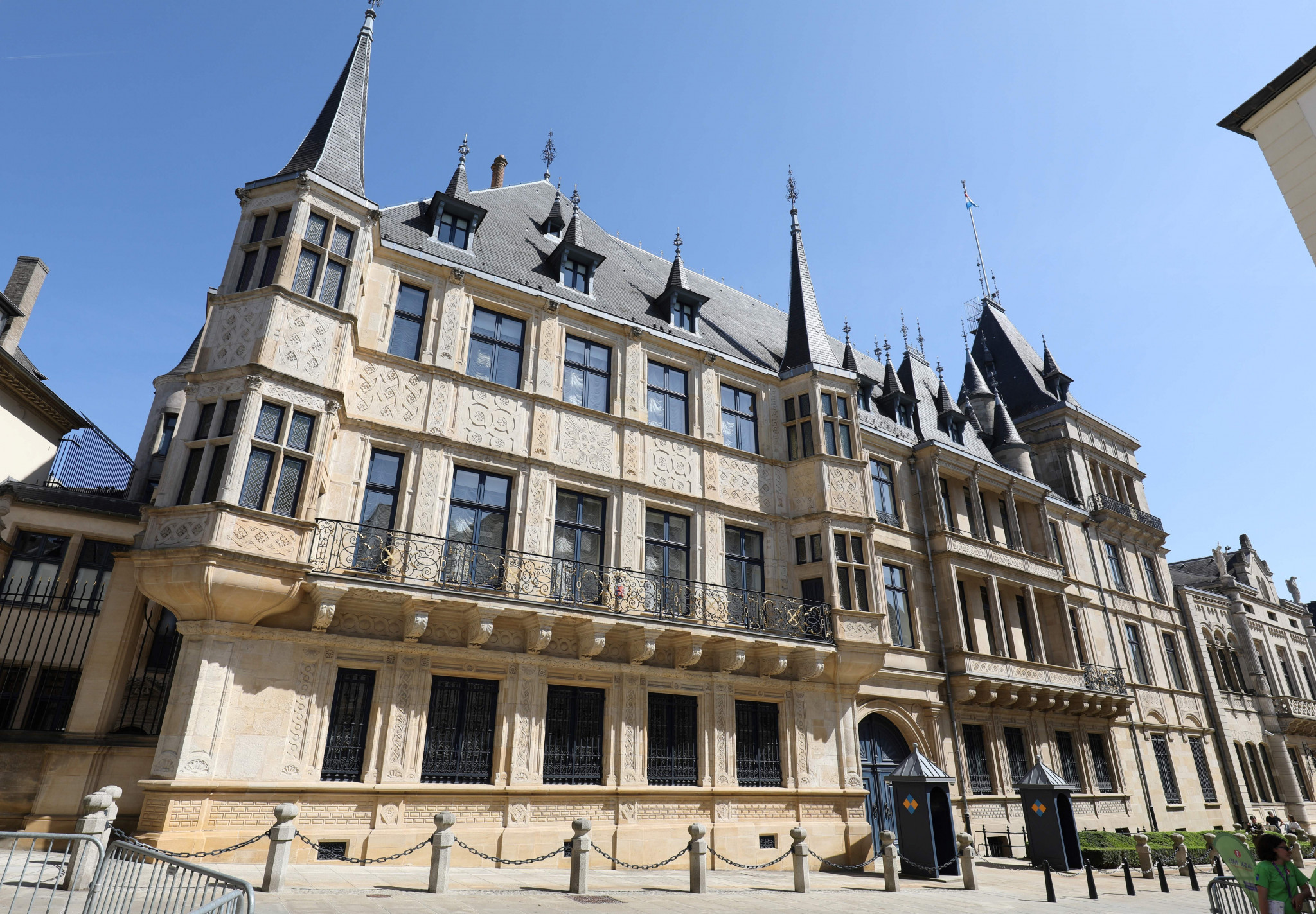Grand Ducal Palace in Luxembourg. ©Ludovic Marin/AFP via Getty Images