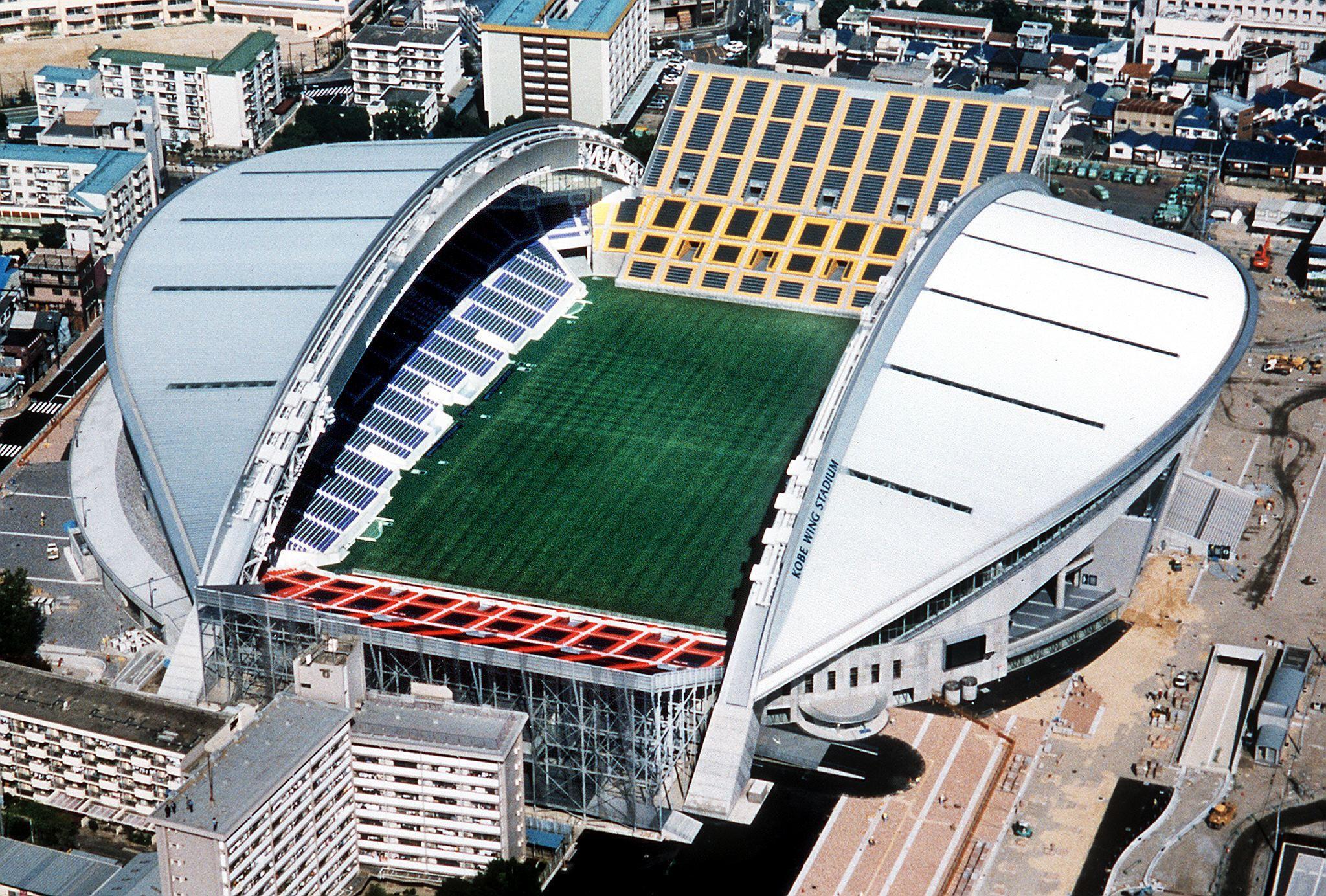 Kobe Stadium. ©JAWOC/AFP via Getty Images