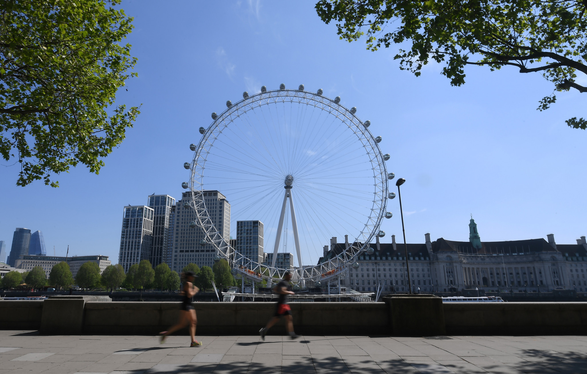 The coronavirus pandemic has postponed this year's London Marathon, which now has an October date ©Getty Images