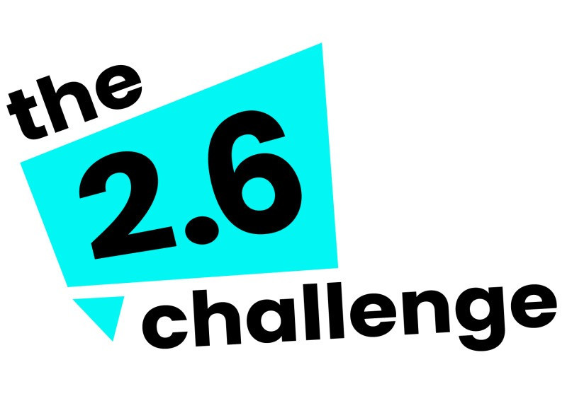 Organisers of the 2.6 Challenge say the campaign raised money for a record 3,961 charities ©The 2.6 Challenge